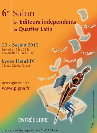 Salon éditeurs indep quartier lat 2012