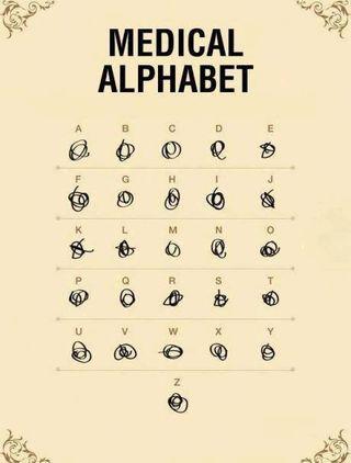 Alphabet médical