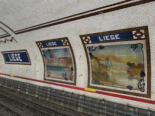 Station liège ligne 13