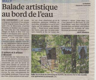 Parisien 3 aout 2014 Aunette