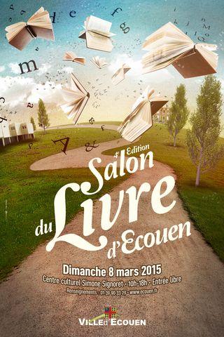 Doc-Salon Du Livre 2015 Affiche 40x60