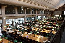 Centre-d'acceuil-et-de-recherche-des-Archives-nationales-Architecte-Stanislas-Fiszer-Salle-de-consultation-