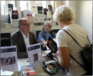 Quartier du livre Paris 24 mai  photo JP Mosca 2