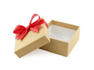 Boite cadeau vide