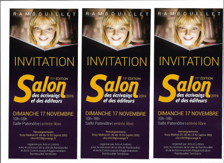 Rambouillet Invitations Salon 2019 001