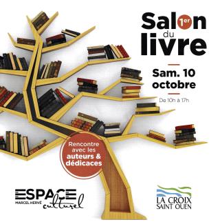 Lacroix St Ouen SALON DU LIVRE 10 oct 2020